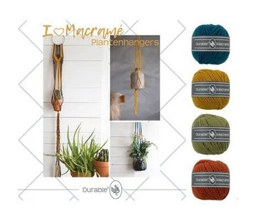 Durable Macramé Pakket I love Plantenhanger