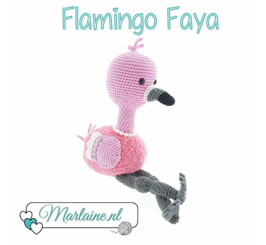 Haakpatroon Flamingo Faya PDF