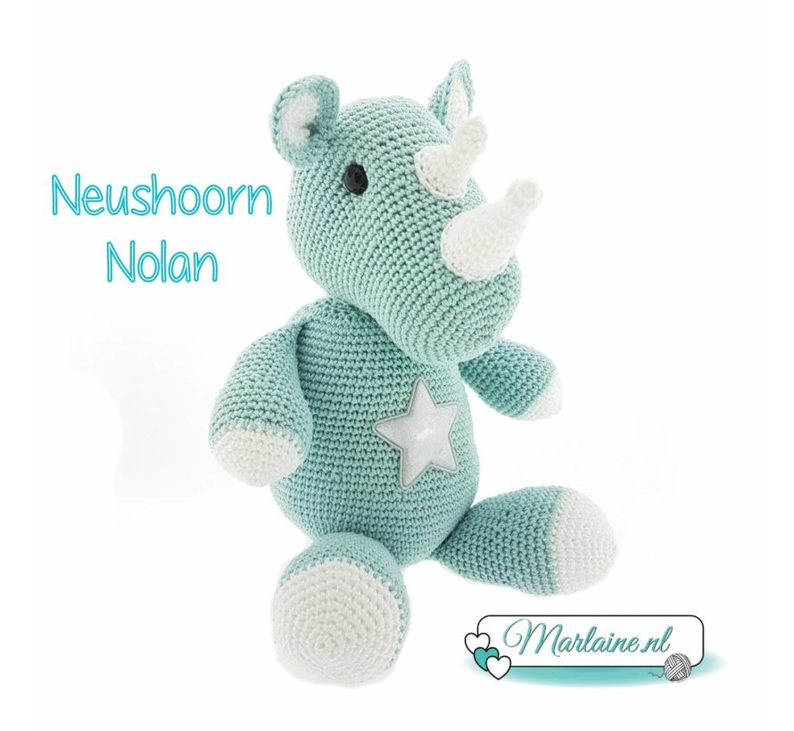 Haakpatroon Neushoorn Nolan PDF