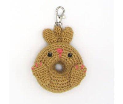 Hardicraft Hardicraft Haakpakket Donut Konijntje sleutelhanger