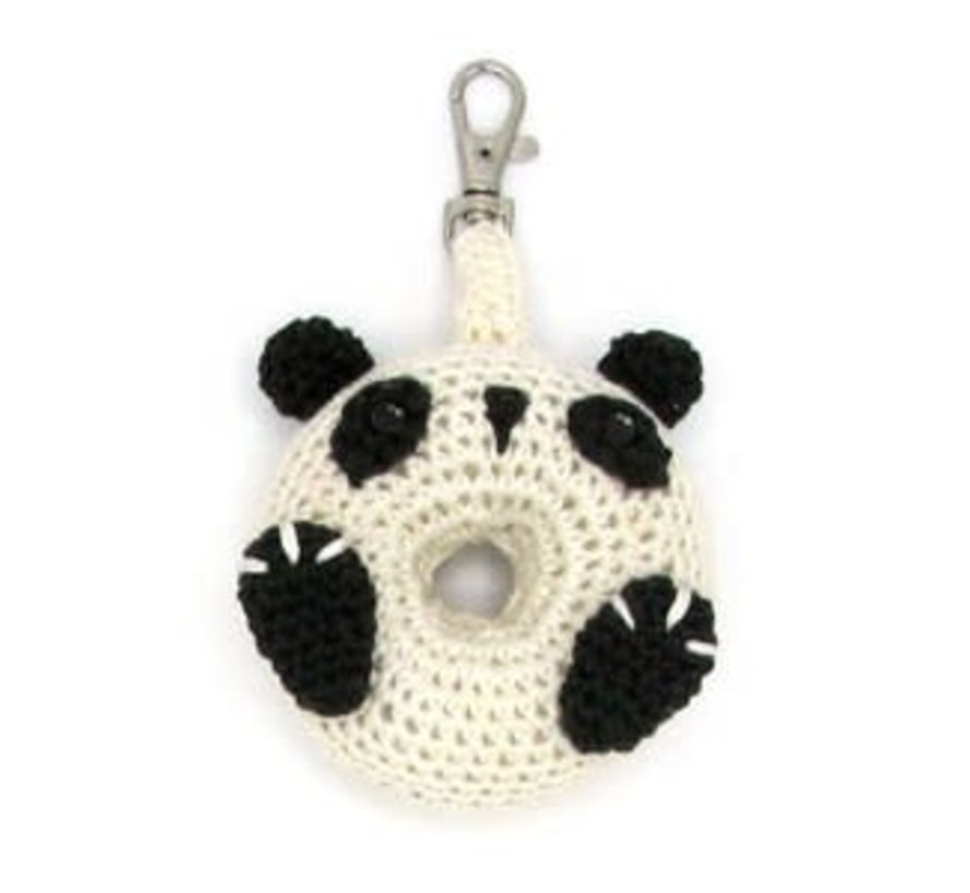 Hardicraft Haakpakket Donut Panda sleutelhanger