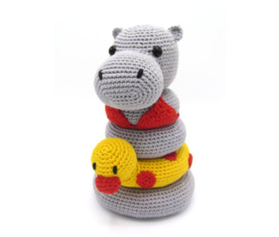 Hardicraft Hardicraft Haakpakket Stapeltoren Nijlpaard Helga