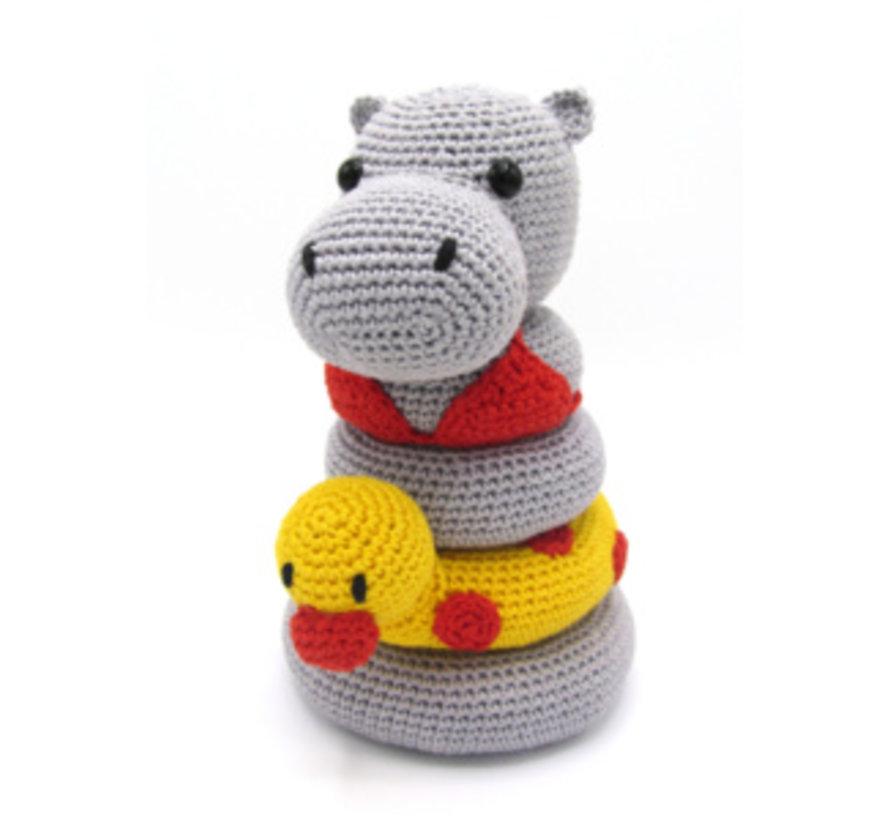 Hardicraft Haakpakket Stapeltoren Nijlpaard Helga
