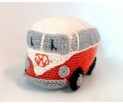 Hardicraft Hardicraft Haakpakket Retro VW Bus Rood