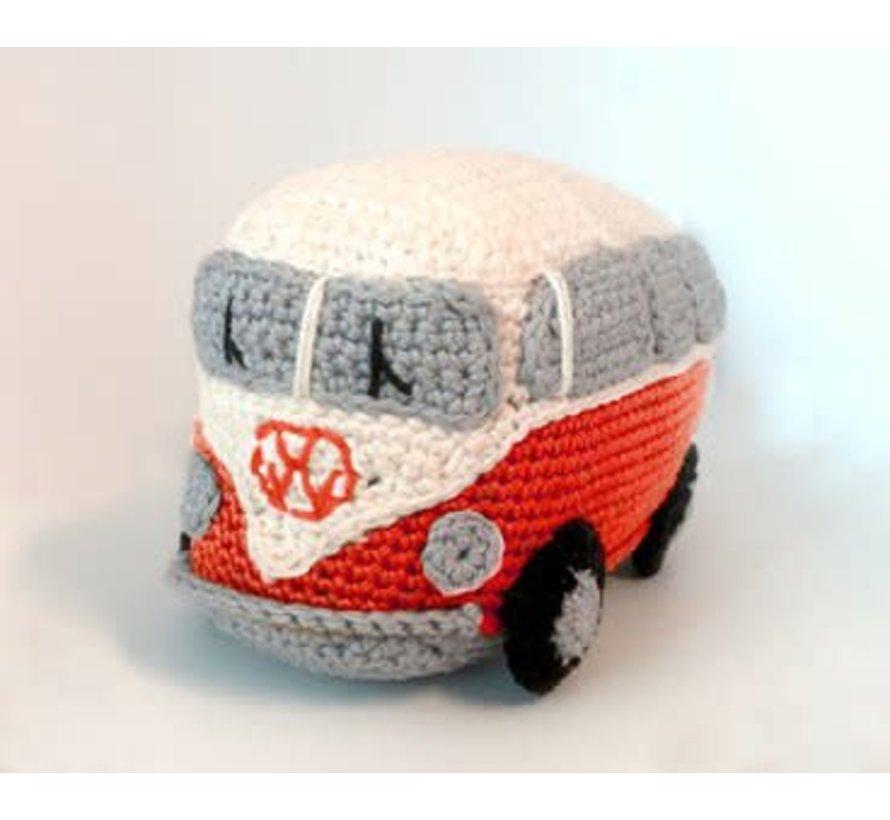 Hardicraft Haakpakket Retro VW Bus Rood