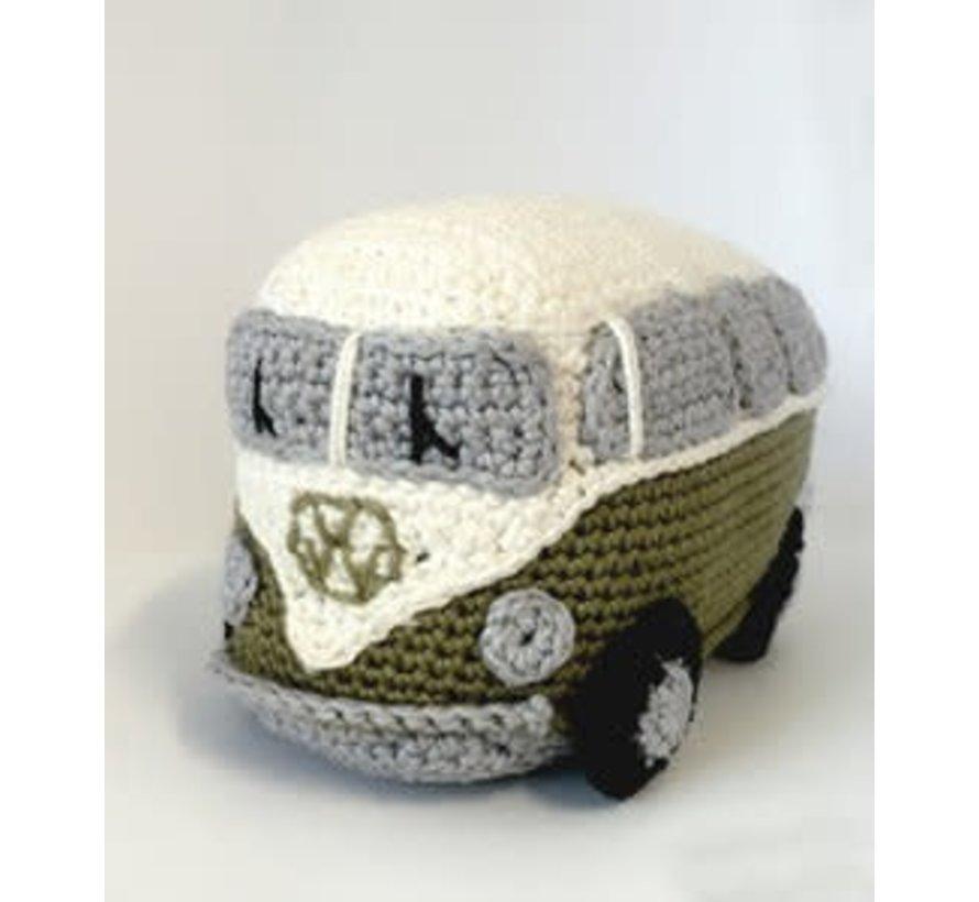 Hardicraft Haakpakket Retro VW Bus Groen