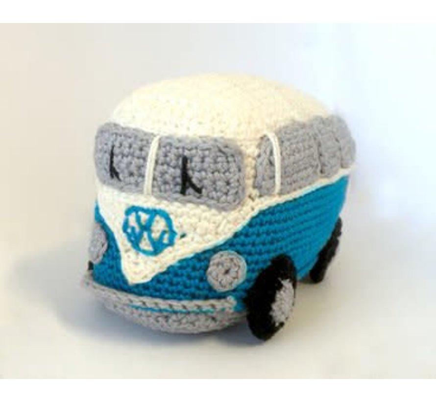 Hardicraft Haakpakket Retro VW Bus Blauw