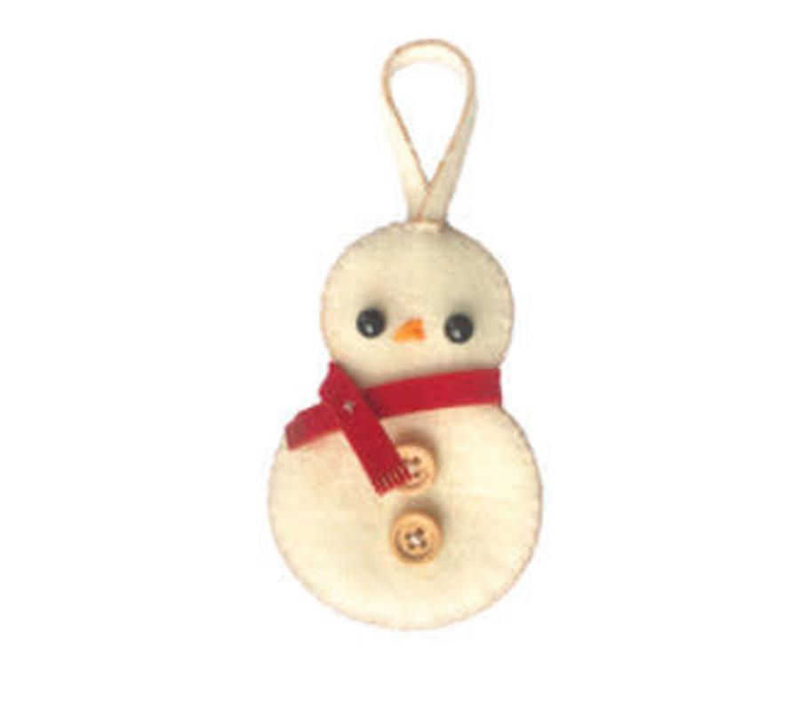 Hardicraft Wolviltpakket Seasonal Editions Sneeuwpop hanger