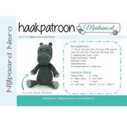 Marlaine Haakpatroon Nijlpaard Nero Boekje