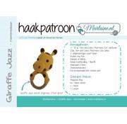 Marlaine Haakpatroon Giraffe Jazz Rammelaar Boekje