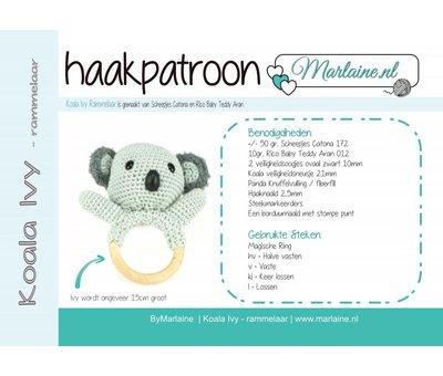 Marlaine Patroonboekje Koala Ivy Rammelaar