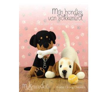 MyKrissieDolls Mijn Hondjes van Sokkenwol - MyKrissieDolls Kristel Droog Dekkers
