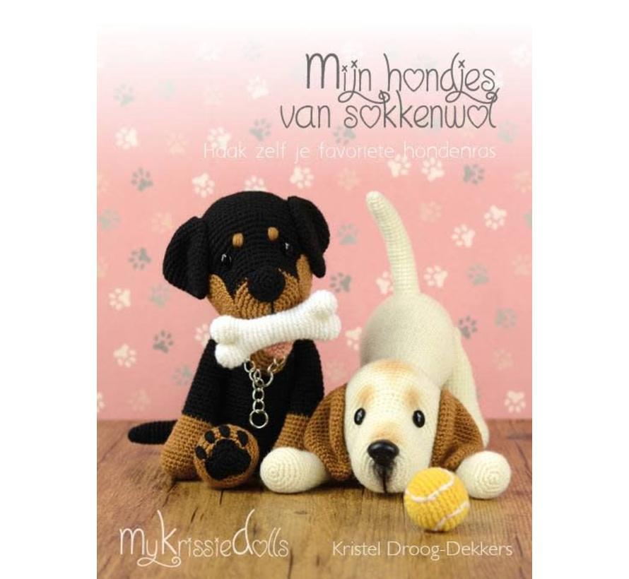 Mijn Hondjes van Sokkenwol - MyKrissieDolls Kristel Droog Dekkers