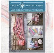 Uitgeverij Haakpatroon Durable Summer Designs Patronen Boekje