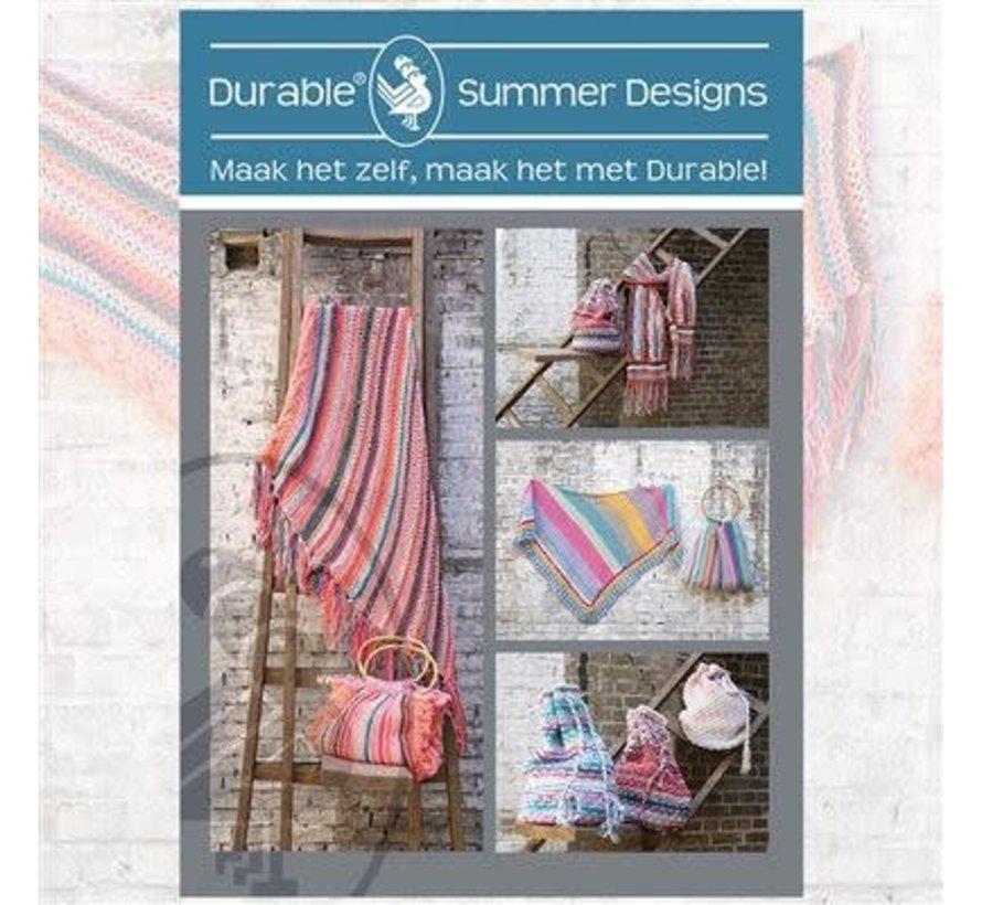 Patroonboekje Durable Summer Designs Patronen