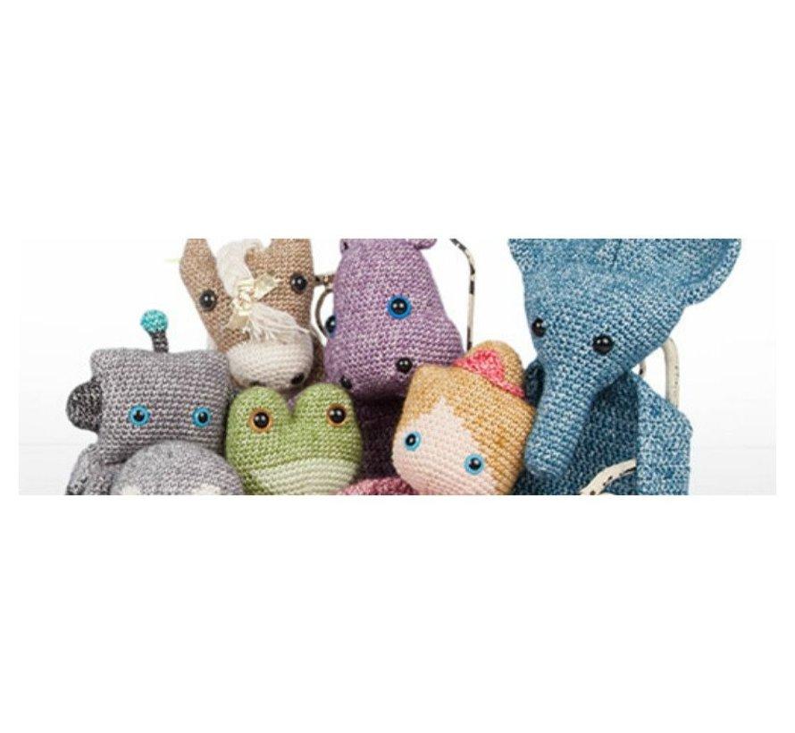 Gehaakte Lappenpoppen - Sascha Blase van Wagtendonk