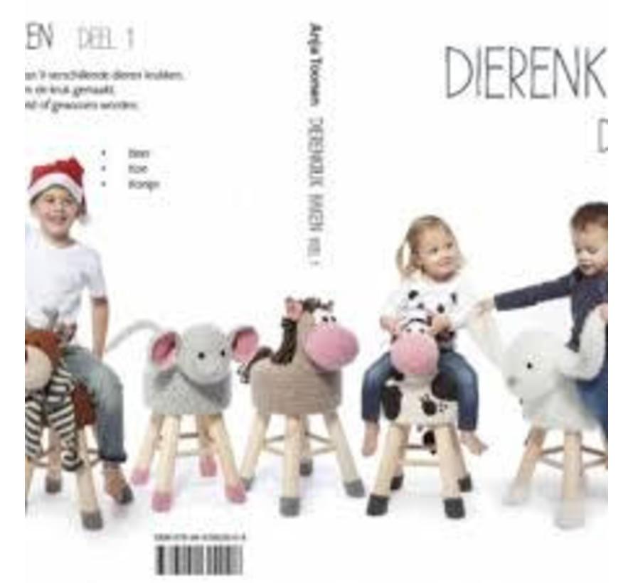 Dierenkruk Haken Deel 1 Anja Toonen Marlaine Creatieve Webshop