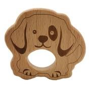 Houten Bijtring Hond
