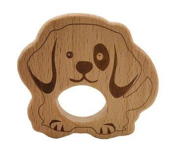 Huismerk Houten Bijtring Hond