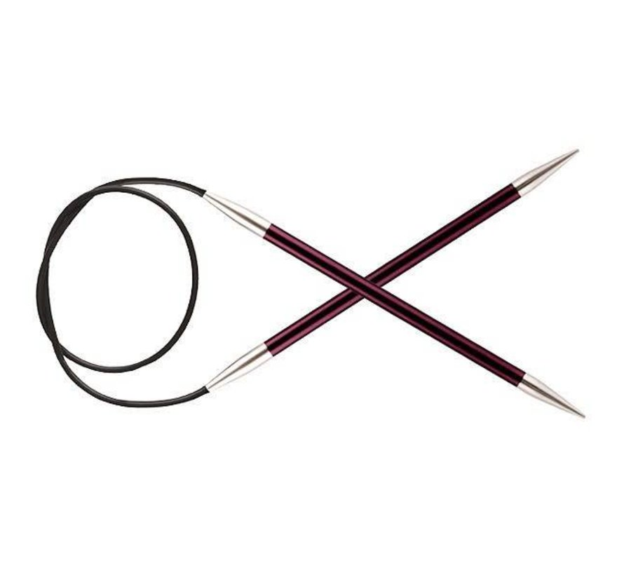 KnitPro Zing Rondbreinaald 80cm