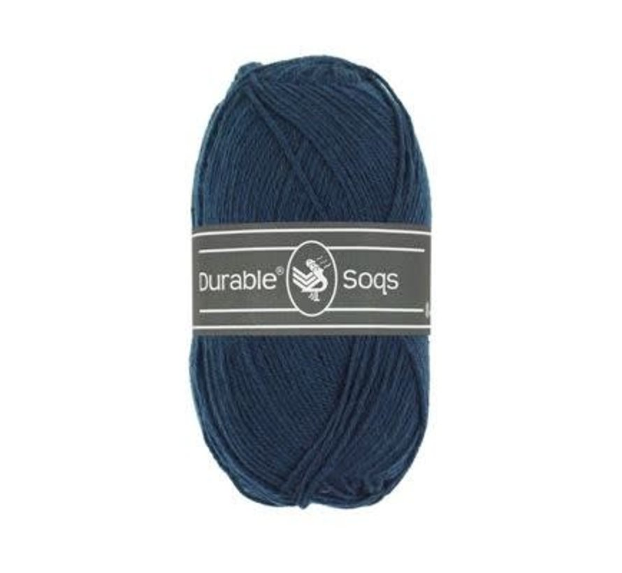 Durable Soqs 321 Navy