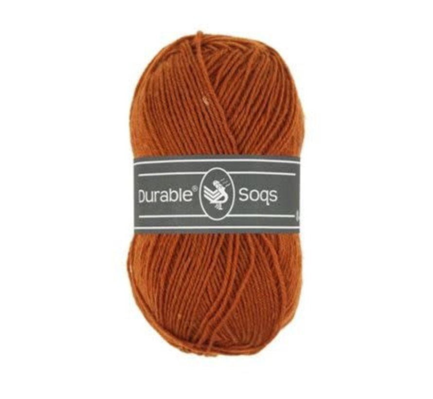Durable Soqs 417 Bombay Brown