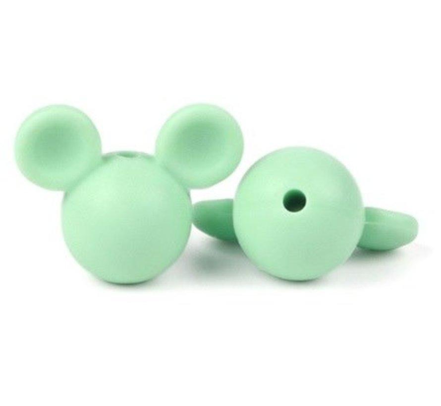 Siliconen Mickey 15mm