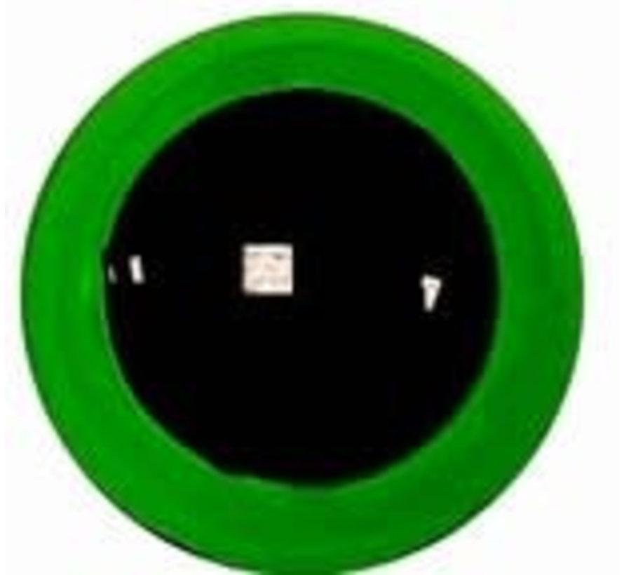 Veiligheidsoogjes Groen Transparant
