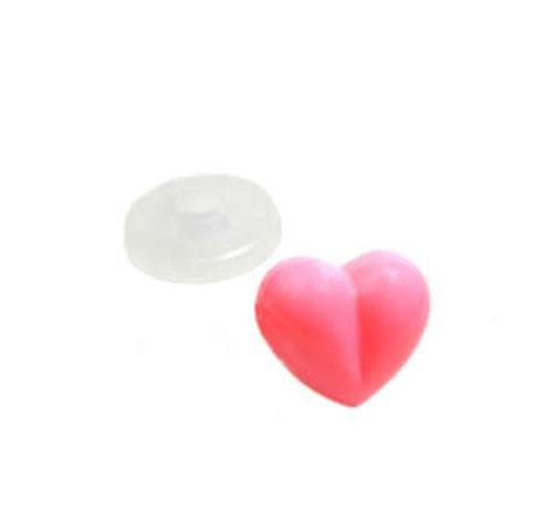 Veiligheidsneusje hart 18mm