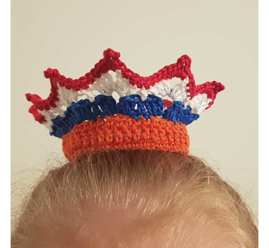 Haakpatroon Kroontje - Koningsdag Download