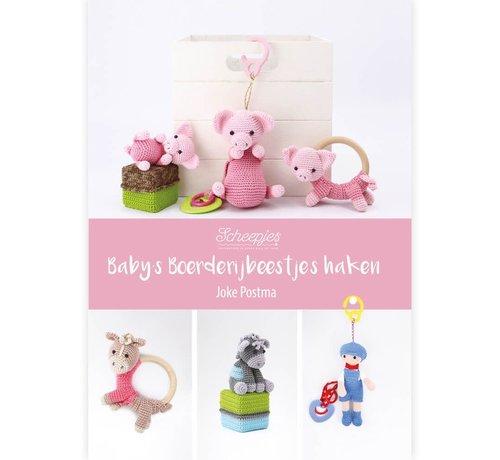 Uitgeverij Baby's boerderijbeestjes haken - Joke Postma