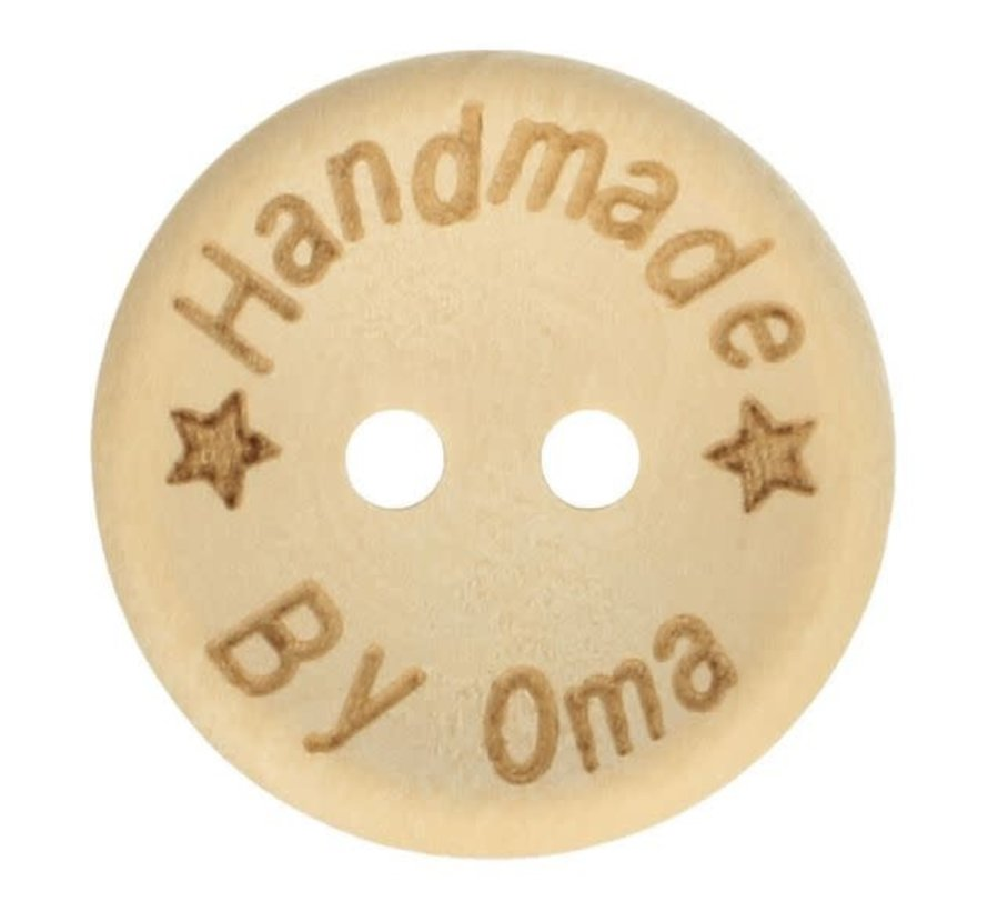 Knoop Handmade by oma 'ster' 20mm