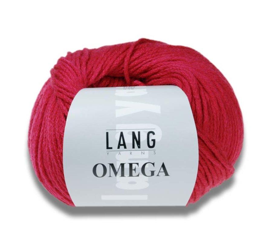 Lang Yarns Omega 005 Grijs melange