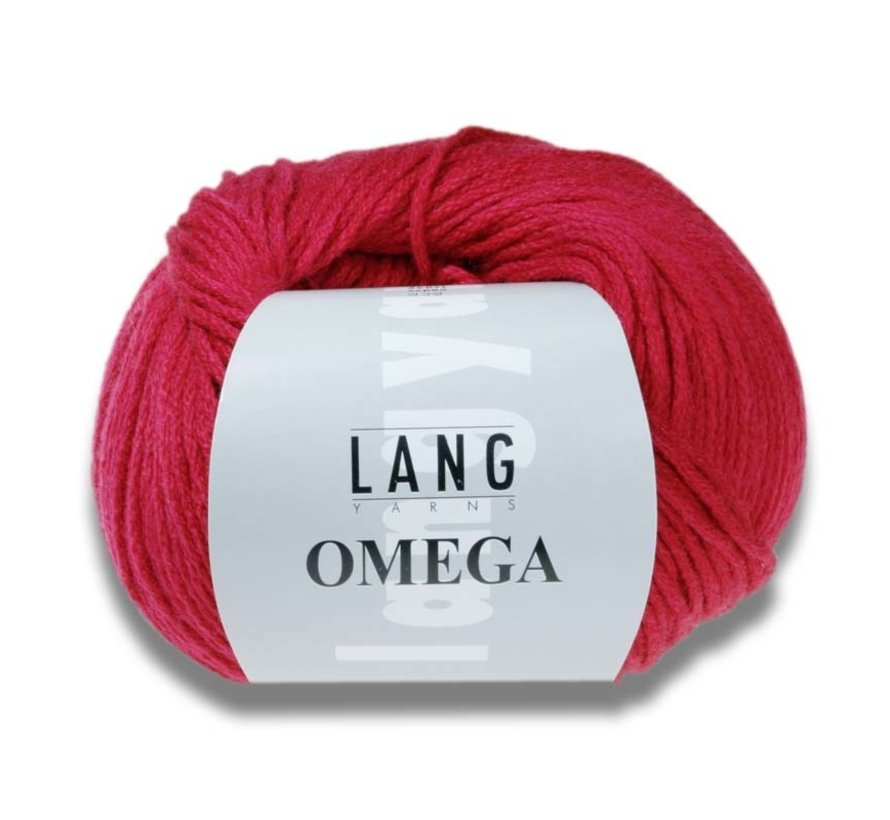 Lang Yarns Omega 162 Wijnrood