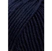 Lang Yarns Lang Yarns Merino 120 025 Kleur: Nacht Blauw