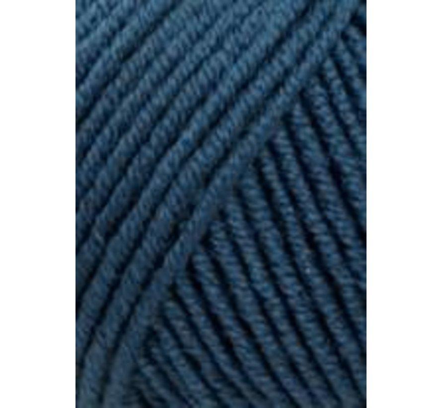 Lang Yarns Merino 120 133 Staal Blauw