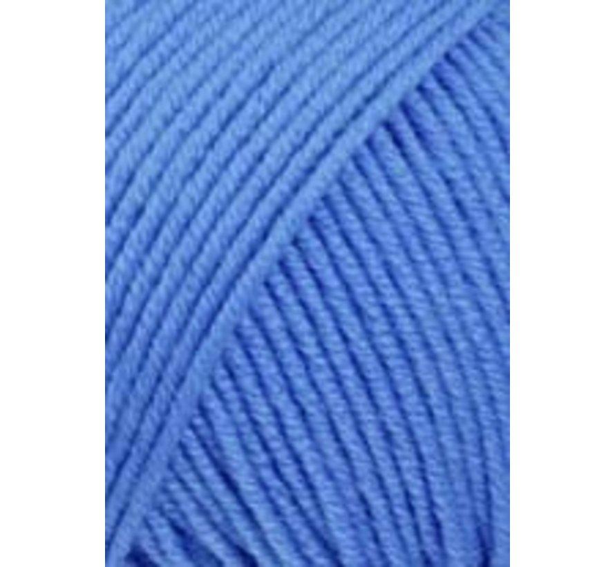 Lang Yarns Merino 120 206 Midden Blauw