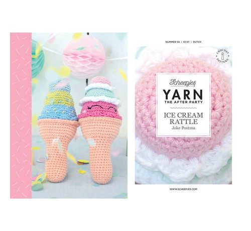 Scheepjes YARN the After Party NO. 56 Ice cream rattle