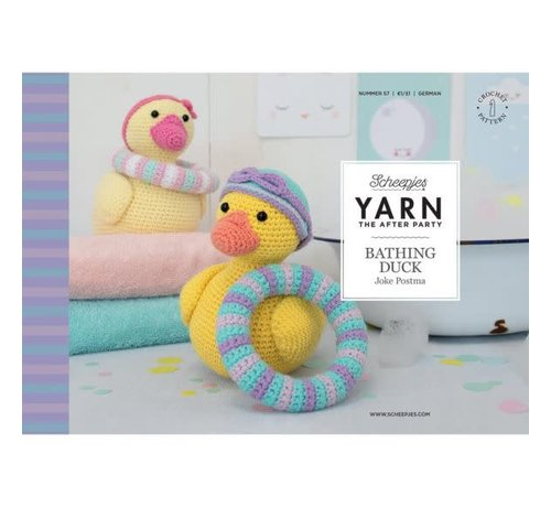 Scheepjes YARN the After Party NO. 57 Bathing Duck
