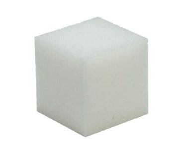 Huismerk Schuimrubber kubus 10 x 10 cm