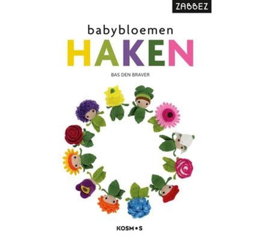 Zabbez Babybloemen haken - Bas den Braver