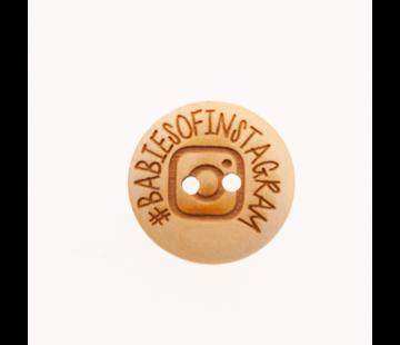 Knoop #babiesofinstagram 20mm 3 stuks