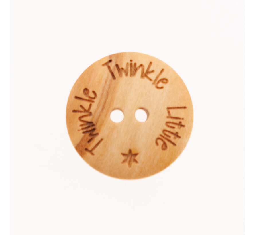Knoop Twinkle Twinkle Little Star 25mm