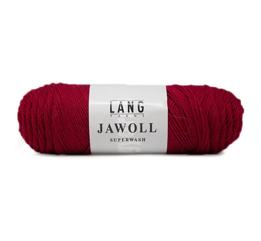 Lang Yarns Jawoll 262 Donkerrood