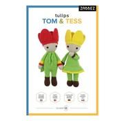 Zabbez Haakpakket Tulips Tom & Tess - Zabbez