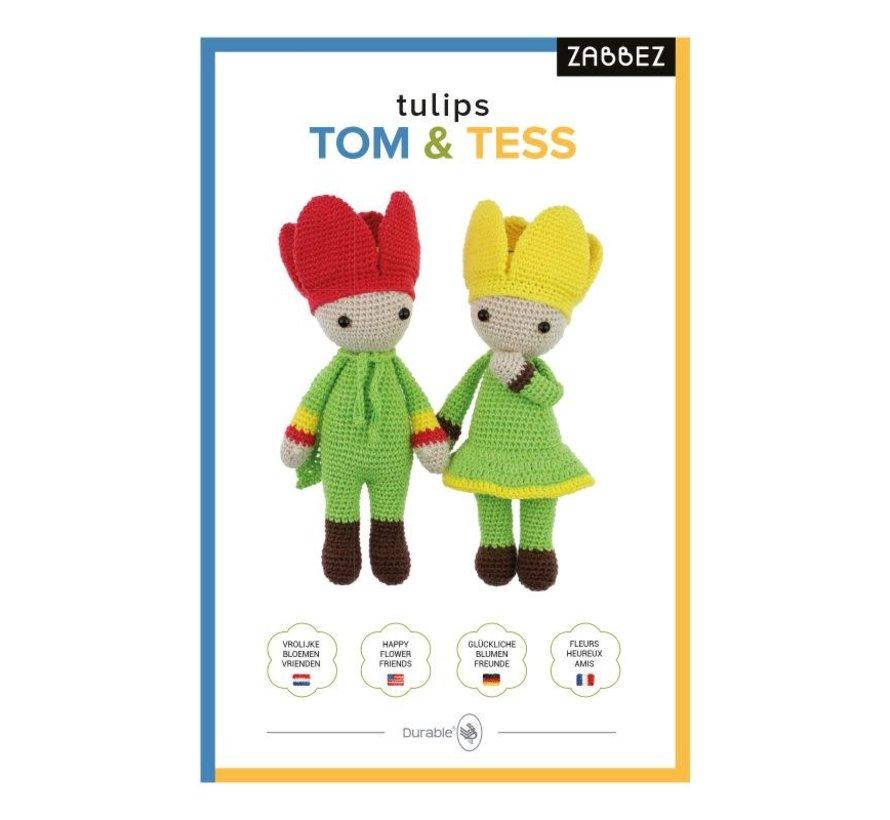 Haakpakket Tulips Tom & Tess - Zabbez