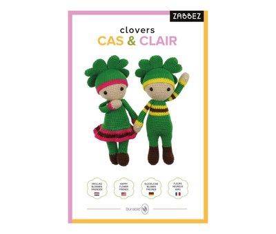 Zabbez Haakpakket Clovers Clair & Cas - Zabbez
