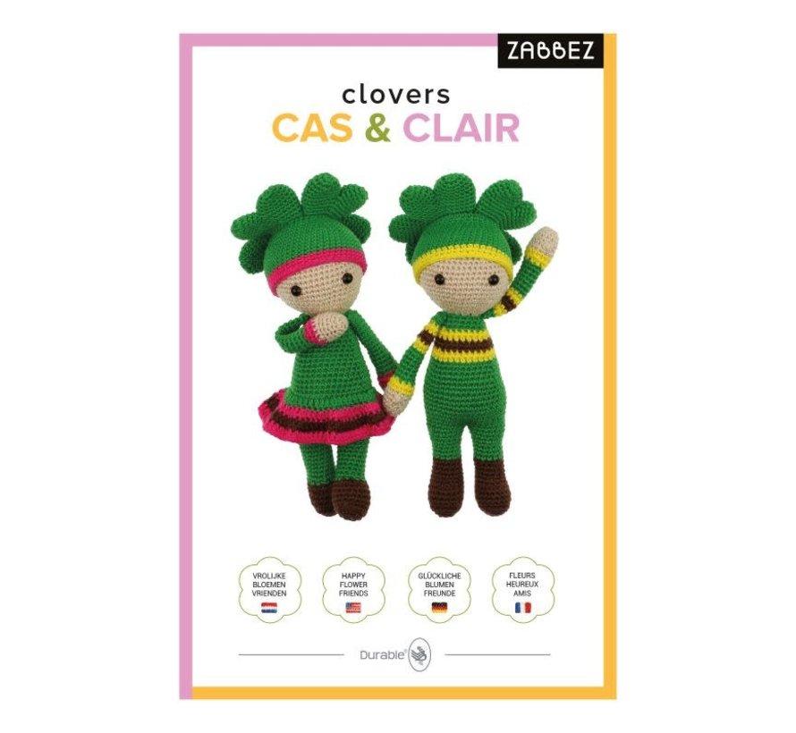 Haakpakket Clovers Clair & Cas - Zabbez
