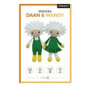 Zabbez Haakpakket Daisies Daan & Mandy - Zabbez