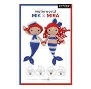 Zabbez Haakpakket Waterworld Mermaids Mik & Mira - Zabbez
